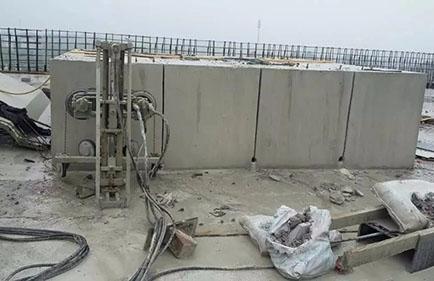混凝土无损切割与混凝土结构拆卸