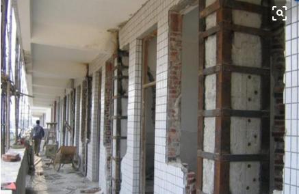 桂林外粘型钢加固法